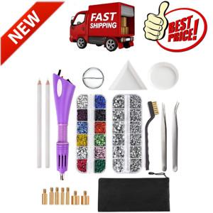 Hotfix Applicator, DIY Hot Fix Rhinestone Applicator Setter Tool Kit Rhinestones