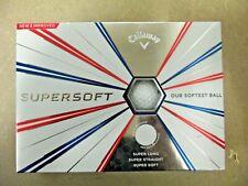 Callaway Golf Supersoft Golf Balls One Dozen (12) White New w/ Free Shipping