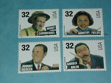 Set of 32 cent Songwriter Stamps (SC 3100-03) MNH