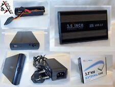 """3.5"""" SATA enclosure disco USB 2.0 3.0 chassis ESTERNO CASE Disco Rigido #6p"""