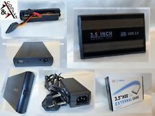 "3.5"" SATA Festplattengehäuse USB 2.0 3.0 Externes Gehäuse Case Festplatte    #6P"