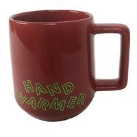 Starbucks Mug Red Hand Warmer 12 oz 2019 Holiday
