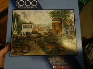 Bits & Pieces Jigsaw Puzzle (Mississippi Memories) 1000