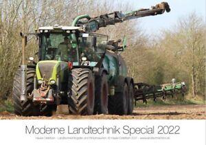 Traktor-Kalender 2022 CLAAS Landtechnik Special    (NEU & OVP)