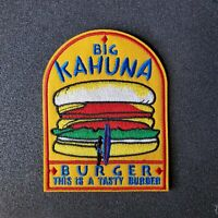 Pulp Fiction Big Kahuna Burger embroidered Logo Patch 3 1/2 inches wide