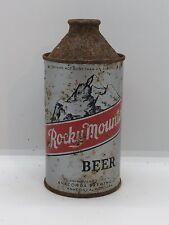 Rocky Mountain Cone Top Beer Can Anaconda Montana