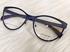 NEW MMJ 625 Blue Navy Eyeglasses frames Cat Eye Light 55 mm Eye Size Nose Pads