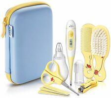 PHILIPS AVENT Baby Pflege-Set Bürste Kamm Thermometer Nasensauger Nagelpflege