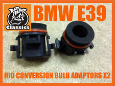 H7 Xenon HID Conversion Bulb Holder Adaptors To Fit BMW E39 5 SERIES