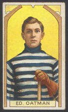 1911-12 C55 IMPERIAL TOBACCO HOCKEY #5 ED OATMAN STANLEY CUP CHAMP ROOKIE CARD