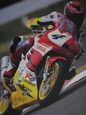 Poster Yamaha YZF-R6 2000 #4 Jorg Teuchert (GER) WSS