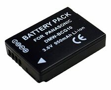 CS Power DMW-BCG10 Li-ion Battery For Panasonic Lumix DMC-ZS3 DMC-ZS1 DMC-TZ7K