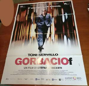 Gorbaciof Servillo Locandina Copertina Piegata Dvd 100x70cm Poster N