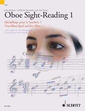 OBOE SIGHT-READING 1 / DECHIFFRAGE POUR LE HAUTBOIS 1 / VOM-BLATT-SPIEL AUF DER