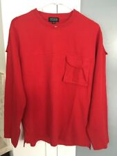 Messori Classic Red Pull Over XL 180/96A Sweat Shirt