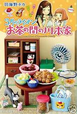 Re-ment Miniature Living Room of Kawamoto Family Set rement Set Full Set of 8