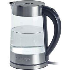 Nesco GWK-02 1.8L Electric Glass Water Kettle