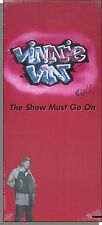 Vinnie Vin - The Show Must Go On - New, Sealed 1991 Long Box Pop-Rap CD!