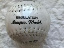 New Trio Hollander Softball, Regulation League Model, Yarn Wound, Hand Stitched