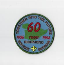 Scouts Canada British Columbia Richmond 60th Anniversary BCR01/_2x Badge Patch