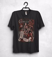 Crowley Fergus Roderick MacLeod T Shirt Top Demon King Of Hell Supernatural Gift