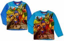 Mike der Ritter Shirt langarm 92 98 104 110 116 122 Langarmshirt Junge Drachen