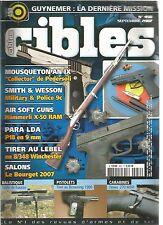 CIBLES N°450 MOUSQUETON AN IX / SMITH & WESSON MILITARY & POLICE 9C / PARA LDA