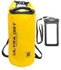Dry Bag Waterproof Camping Sack Phone Case Backpack Shoulder Strap Water Sports