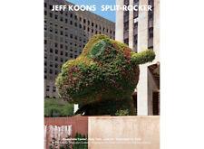 Jeff Koons poster  art Split-Rocker print rare new double side poster