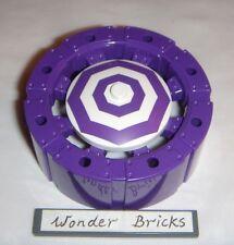 2x Lego Batman Joker Steam Roller Wheels 76013 Purple