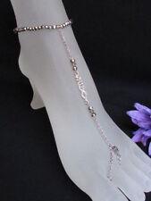 Anklet FootChain Jewelry Bracelet Rhinestone New Women Sexy Silver Metal Fashion