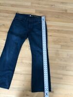 Men's 7 For All Mankind 'A' Pocket Bootcut Jeans Size 33 Zip Fly 29.5 inseam