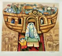 "Gregory Kohelet ""Noah's Ark"" Limited edition serigraph"