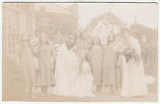 NEWARK - Pageant ? - Frank Robinson - c1910s era real photo postcard