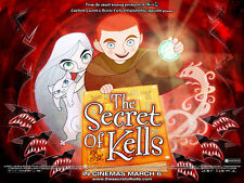 THE SECRET OF KELLS Movie POSTER 11x17 UK