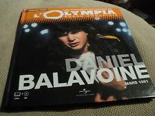 "CD-LIVRE ""DANIEL BALAVOINE A L'OLYMPIA - MARS 1981"""
