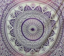 Plush Decor - Glorious Unique Color Shade Purple-pink Large Queen Mandala Tapest