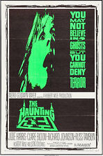 "Movie Poster The Haunting 1963 27""x41"" VF 8.0 Robert Wise Julie Harris"