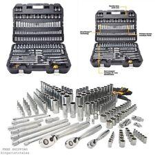 Dewalt 192 Pcs Mechanics Tool Set Universal SAE Metric Ratchet Socket Kit Case