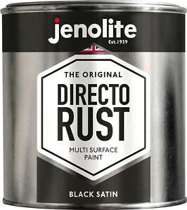 JENOLITE Directorust Multi Surface Paint - Satin - 1 Litre - Wood/Metal/Plastic