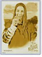 Hilary Knight 2019 Allen and Ginter 5x7 Gold #185 /10
