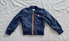 PAUL SMITH JUNIOR BOYS NAVY BLUE ZIP JACKET 3 - 4 years SZ 4A
