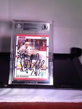 HOF Hockey Raymond Bourque Autographed Card Beckett Encapsulated Authenticated
