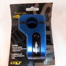 GT CNC AFX Stem BMX  1 1/8 inch threadless Blue