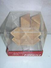 3 x 3D Mind Game Knobelspiel Holzpuzzle