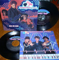 """*<* SALE! 2 THOMPSON TWINS CLEAN M- 45s/PIC SLVs """"HOLD ME NOW"""" +""""DOCTOR! DOCTOR"""""""