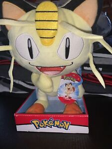 Pokemon Meowth Series 2 Plush Brand New with Tags Wicked Cool Toys