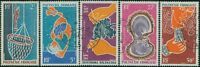 French Polynesia 1970 Sc#C57-C61,SG116-120 Pearl-diving set FU