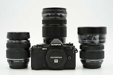 Olympus OM-D E-M5 II 3-Lens PRO Kit w/ 7-14 2.8, 12-40 2.8, 40-150 2.8 and more