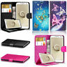 New Genuine Black Leather Wallet Flip Phone Card Case Cover For HUAWEI P Smart